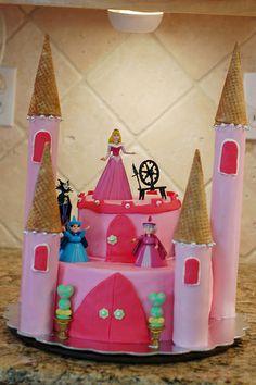 sleeping beauty castle cake ideas - Google Search