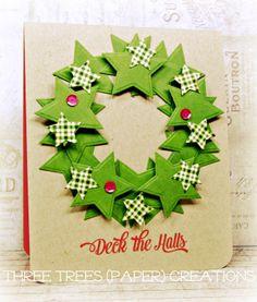 Merry Monday 108: Use Stars.  Three Trees {paper} Creations