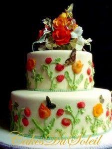Wedding In Miami: Ribbon Wedding Cakes | The Wedding Specialists