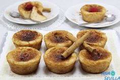 Pastelitos de torrijas Thermomix A Food, Food And Drink, Sweet Cooking, Tostadas, Breakfast Recipes, French Toast, Cheesecake, Sweets, Snacks