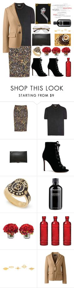 """""""Autumn"""" by sukia ❤ liked on Polyvore featuring Victoria Beckham, Bottega Veneta, Gianvito Rossi, Foundrae, Grown Alchemist, The French Bee, Cultural Intrigue, Chloé and Lands' End"""