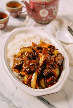Instant Pot Braised Curry Beef, by thewoksoflife. Curry Recipes, Asian Recipes, Beef Recipes, Cooking Recipes, Chinese Recipes, Recipies, Instant Pot Pressure Cooker, Pressure Cooker Recipes, Pressure Cooking