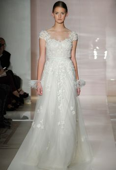 Reem Acra Fall 2014 Wedding Dresses | The Knot Blog – Wedding Dresses, Shoes, & Hairstyle News & Ideas