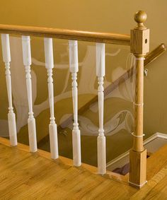 Clear 15' Banister Shield by Cardinal Gates $27.99 #baby #babyproof