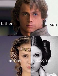 The irony being that Mark Hamill and Carrie Fisher are old enough to be Hayden and Natalie's parents. <<But man, Star Wars' casting is the shit Star Wars Film, Star Wars Meme, Star Wars Art, Anakin Vader, Anakin Skywalker, Darth Vader, Tableau Star Wars, Starwars, Photos Rares