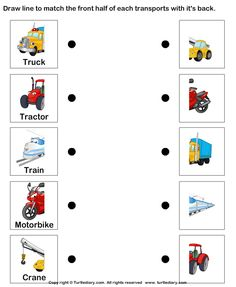 ... on Pinterest | Transportation, Worksheets and Transportation theme