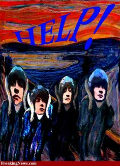 "The Scream ""Beatles"""
