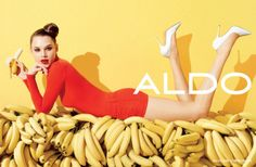 Aldo Spring Summer 2012 Photographer: Terry Richardson Models: Anais Pouliot, Mat Gordon Post: David Moran
