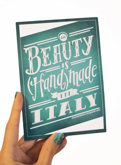 EtsyItaliaTeam Hand Lettering, Italy, Graphic Design, Writing, Pretty, How To Make, Handmade, Inspiration, Beauty