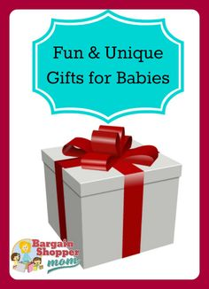 Fun & Unique Gifts for Baby Boy and Baby Girl