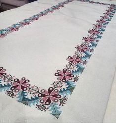 Bargello, Asd, Cross Stitch Embroidery, Floral Tie, Needlework, Runners, Napkins, Driveways, Dots