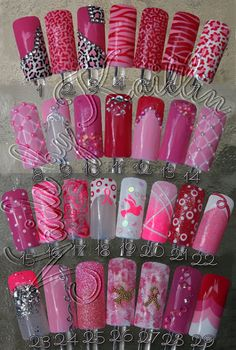 Think Pink Breast Cancer Awareness Artificial Nail Art The post Think Pink Breast Cancer Awareness Artificial Nail Art appeared first on nageldesign. Fancy Nails, Love Nails, Pink Nails, Pretty Nails, My Nails, White Nails, Fingernail Designs, Nail Art Designs, Nails Design