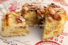 Dolce di pane raffermo e mele ricetta il mio saper fare Biscotti, French Toast, Sweets, Chicken, Breakfast, Desserts, Pizza, Food, Gastronomia