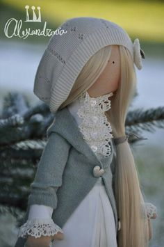 Love the outfit! Bjd Doll, Blythe Dolls, Doll Toys, Baby Friends, Fabric Toys, Dress Up Dolls, Sewing Dolls, Waldorf Dolls, Soft Dolls