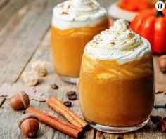 A homemade pumpkin spice latte recipe that is healthier, tastier and quicker than Starbucks. Homemade Pumpkin Spice Latte, Pumpkin Spiced Latte Recipe, Pumpkin Spice Coffee, Spiced Coffee, Pumpkin Recipes, Starbucks Pumpkin, Pumpkin Puree, Diy Pumpkin, Pumkin Pie