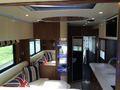 Truck Interior, Pink Lady, Horse Trailers, Camper, Boxes, Decor, Travel Trailers, Caravan, Crates