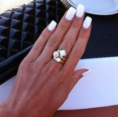 Melano ring white
