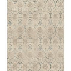 RUGGABLE Washable Indoor/ Outdoor Leyla Creme Vintage Stain Resistant Area Rug (8' x 10')