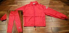 Moss Brown Gore-Tex Red Jogging Suit Jacket Pants Men Small Outdoor Running Gear #MossBrown #TracksuitsSweats Nike Jacket, Rain Jacket, Running Gear, Columbia Sportswear, Gore Tex, Windbreaker, Suit, Brown, Red