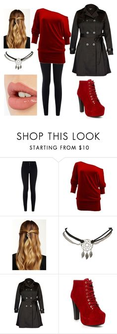 """""""Untitled #67"""" by amymcwray ❤ liked on Polyvore featuring New Look, Natasha, Wet Seal, City Chic and Charlotte Tilbury"""