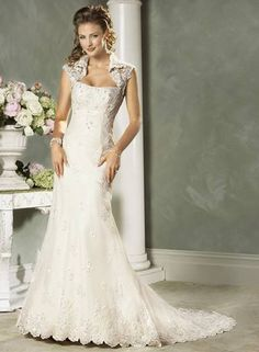 AMERICAN AND INDIAN WEDDING | wedding dress MA213 -----formal american style bridal gown - $655.00 - can add some red and gold to make desi