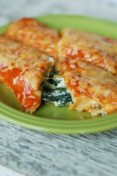 spinach enchiladas- these were really good. had them for the second time tonight and I doubled the recipe.