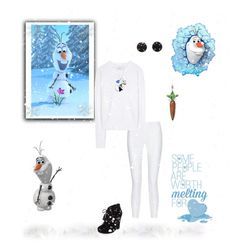 """Olaf - Frozen"" by greerflower ❤ liked on Polyvore featuring 10 Crosby Derek Lam, Disney, 3.1 Phillip Lim, Melissa Joy Manning, Jessica Simpson and Thomas Sabo"