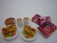 Luxury hot chocolate marshmallows ham salad by STARSGEMINI3, $28.43