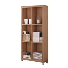 Buena Vida Segura Bookshelf Low Natural - Bookcases - Home Office