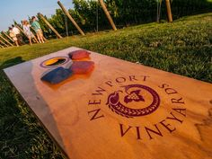 Wine in Rhode Island? Newport Vineyards and been here for 20 years, and this month it will open a new tasting room set amid 50 acres of grapes to complement Brix Restaurant, which opened last fall.