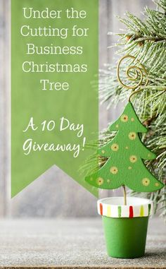 10 Days of amazing giveaways at Cutting for Business - Perfect for Silhouette Cameo or Cricut small business owners. Click to enter and win - cuttingforbusiness.com.