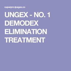 UNGEX - NO. 1 DEMODEX ELIMINATION TREATMENT Fashion Online, Trends, Store, Tent, Shop Local, Shop, Beauty Trends, Storage