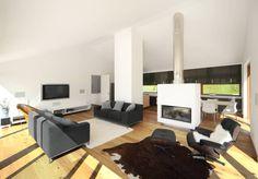 Modern living room by Carlos Zwick Architekten