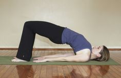 Best Yoga For Back Pain Lie down on your backwith legs folded at the knees, keeping feet flat . Arm Yoga, Low Back Pain Relief, Lower Back Exercises, Yoga For Back Pain, Bridge Pose, Easy Yoga Poses, Basic Yoga, Kundalini Yoga, Vinyasa Yoga