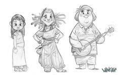 Character Design - Jordi Lafebre