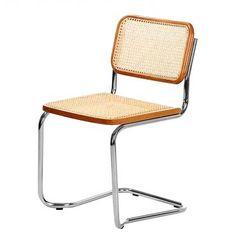 Tribute to german designer Marcel Breuer's famous cantilever chair Cesca