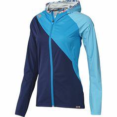 Aktiv Hooded Jacket, Night Blue / Solar Blue, zoom
