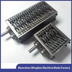 Source Customize double shaft tire shredder machine blades on m.alibaba.com