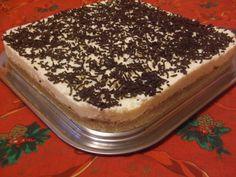 Gesztenyés-túrós sütemény sütés nélkül Tiramisu, Ethnic Recipes, Food, Essen, Meals, Tiramisu Cake, Yemek, Eten