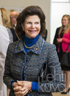 Kuninkaalliskuvat   Queen Silvia acquainted with Latvian   Press image   lehtikuva.fi
