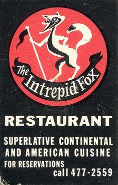 The Intrepid Fox Restaurant | Flickr - Photo Sharing!