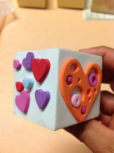Como hacer sellos propios con goma eva