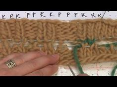 ▶ Knit Graft - YouTube - this is the best instruction I found!