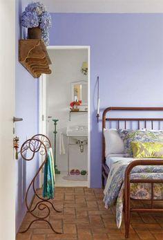 Casa de campo na serra da Mantiqueira com suave combinação de cores - Casa: