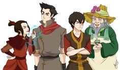Artwork of the Day: Avatar Firebenders United