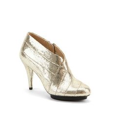 United Nude: Fold Deluxe Booties Gold, at 20% off!
