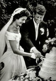Jacqueline and John F. Kennedy - September 12, 1953 - Hammersmith Farm - @~ Mlle
