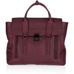 3.1 Phillip Lim Pashli leather tote ($895) ❤ liked on Polyvore