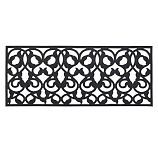 Rubber Leaf Double Wide Doormat, 24 x 58