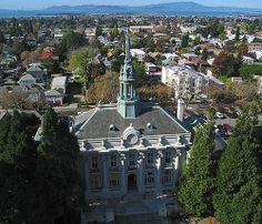 Old City Hall, Berkeley, California by Michael Layefsky, via Flickr